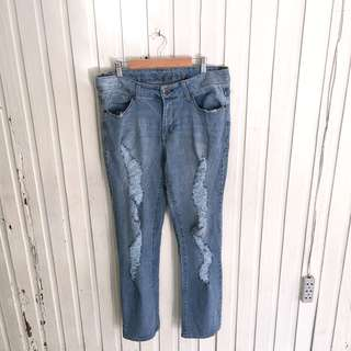 Faded Glory Skinny Ripped Jeans
