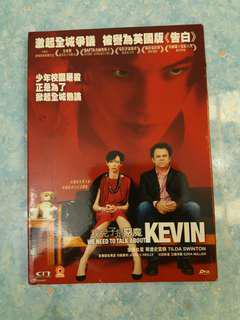 DVD we need to talk about Kevin, thriller 2隻包郵