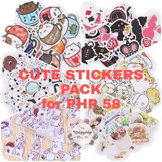 Cute Stickers Pack for PHP 58!