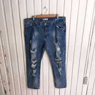 Muaoren Ripped Jeans