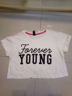 Forever Young Croptop