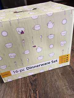 Gourdos Dinnerware 16 pc set