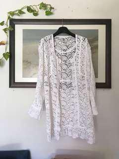 DVF (authentic) White Lace