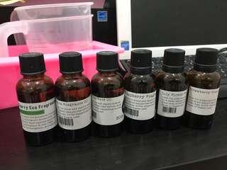 Varies Fragrance Oil