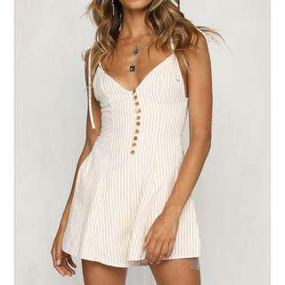 Runway scout playsuit