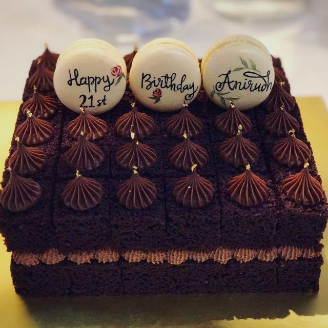 21st Birthday Chocolate Cake Food Drinks Baked Goods On Carousell