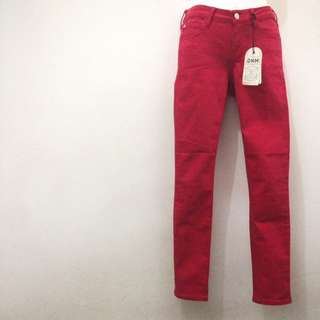 Mango Red Jeans