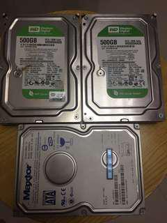 Bad Hard Disk 壞硬盤三個