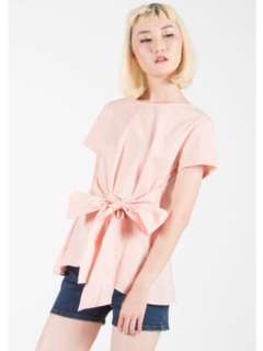Colorbox bow blouse