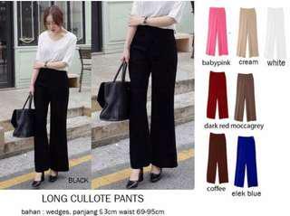 Culloutes Pants Black