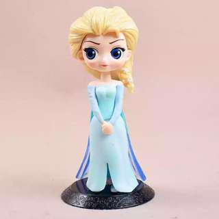 Princess Qposket Frozen Elsa Cake Toppers / Figurines