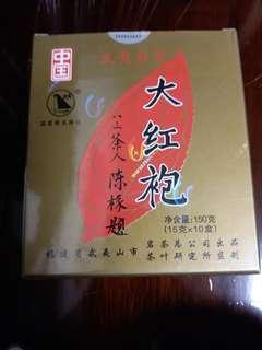 武夷星大红袍茶叶,15O克,2OO8年茶,