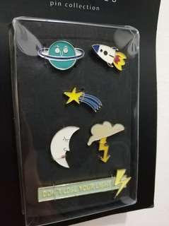 ZARA PIN SET / Pin Accessories SALE (Universe series)