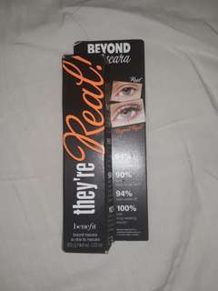 Benefit mascara - they're Real!