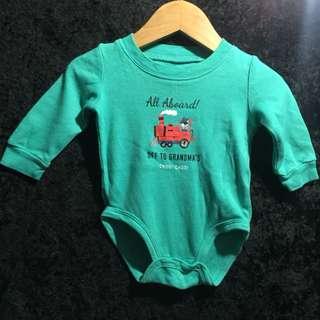 Carter's Mint Baby Bodysuit