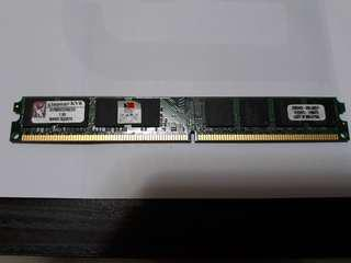 🚚 Kingston 記憶體 KBR8002N6/2G (DDR2, 2010購入)