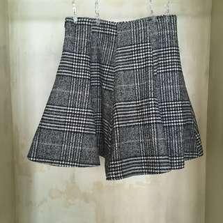 90s inspired houndstooth mini skirt | Korea