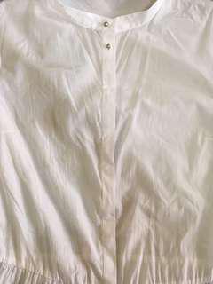 Giordano | Ladies white polo blouse | 418-A05