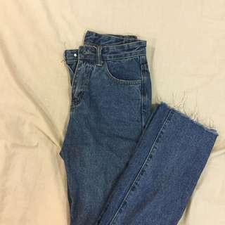 有改過腰圍 一般穿s的都可以穿 牛仔長褲