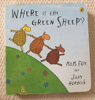 Mem Fox Board book for toddler