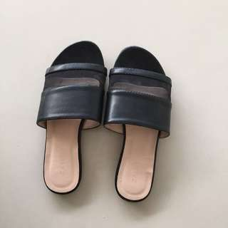 Zalora Black Sandals