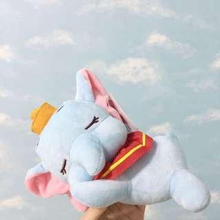 迪士尼 小飛象睡眠雲朵玩偶