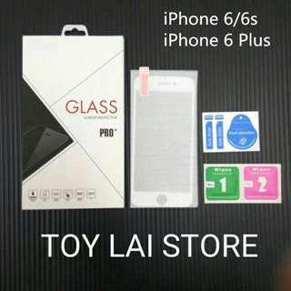 iPhone 6 6s 6 plus Apple 蘋果 碳纖維軟邊 鋼化玻璃膜 鋼化玻璃貼 保護貼 前膜 滿版 全新