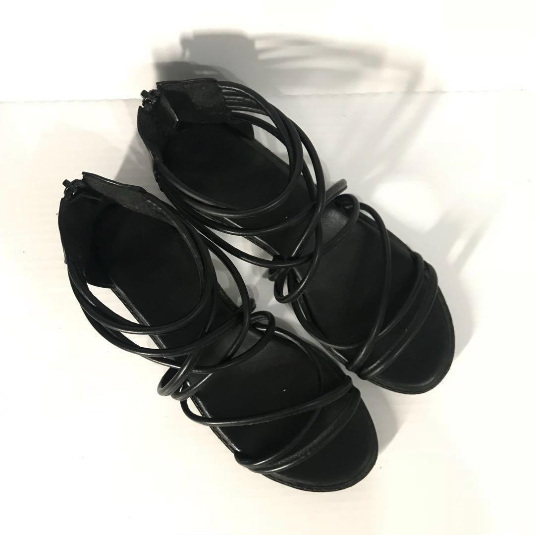 羅馬涼鞋 交叉編織 女鞋 #畢業百元出清