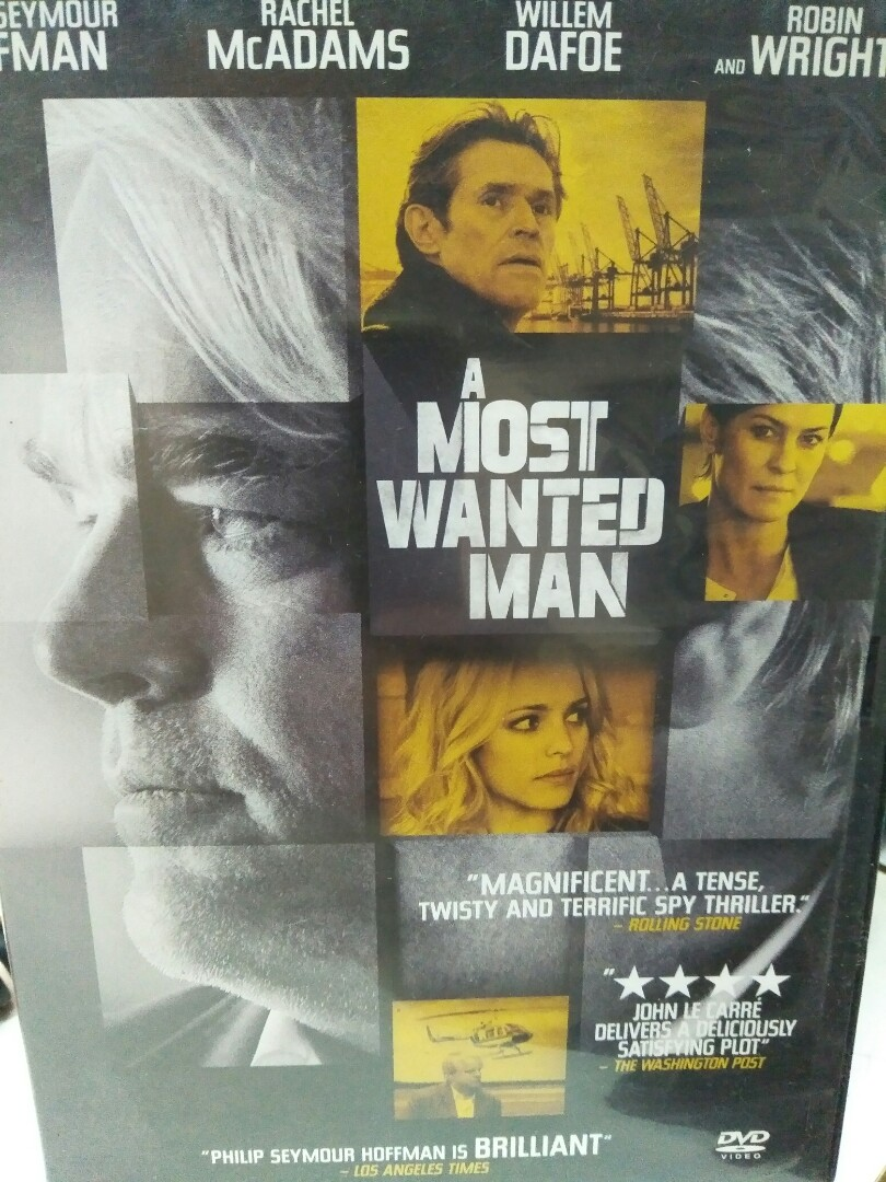 A Most Wanted Man Movie Dvd Music Media Cds Dvds Other Media On Carousell