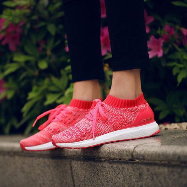 fa053734cf04c ... discount adidas ultra boost uncaged pink womens fashion shoes on  carousell 420db 88579