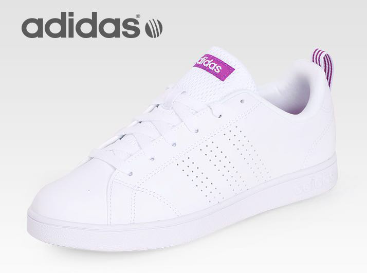 new arrival 5ef9f a27b8 Adidas VS Advantage CL Clean Women Shoes Tennis Sneakers BB9