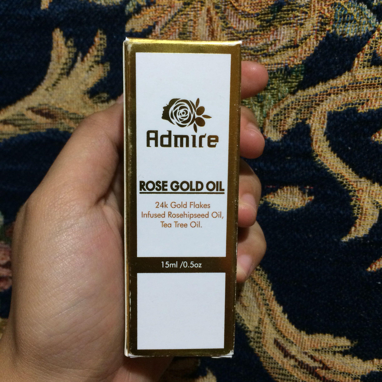 admire rose gold