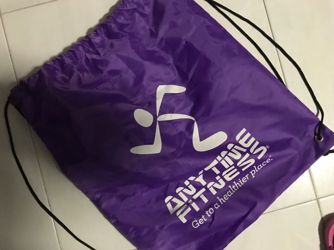f223eed1bf9 Anytime fitness draw string bag