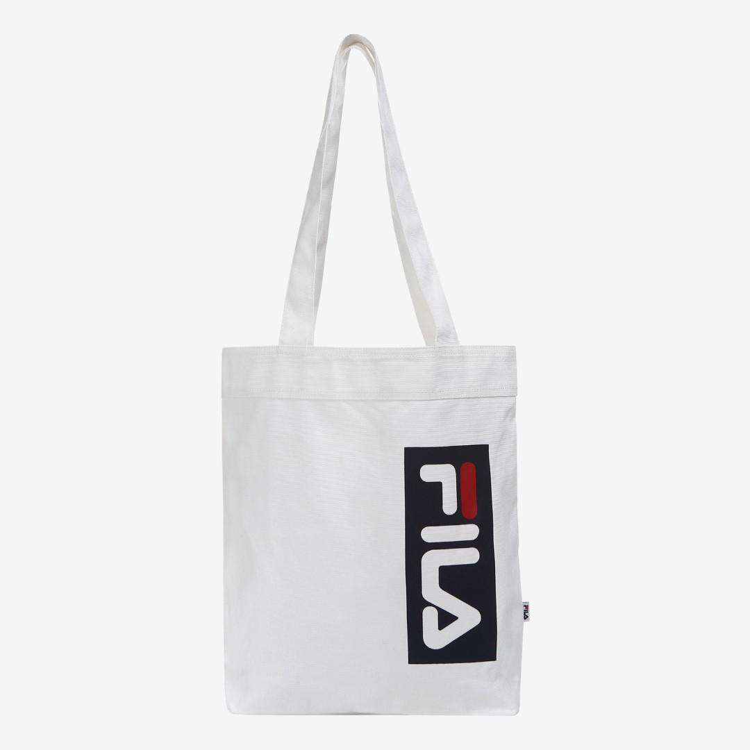 f12cb535da73 Authentic Fila White Mini Eco bag (Frome Korea)