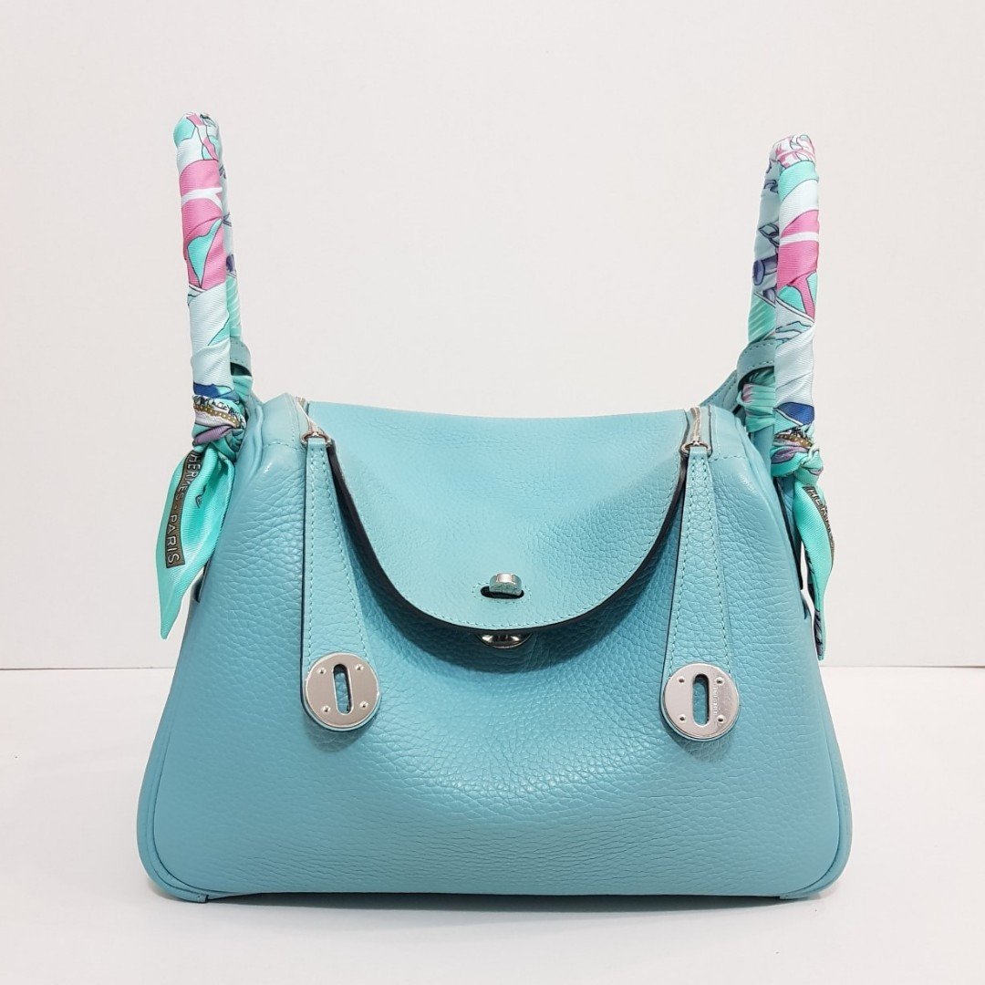 2844df20d8 cheapest hermes lindy 26 blue atoll d8162 98320