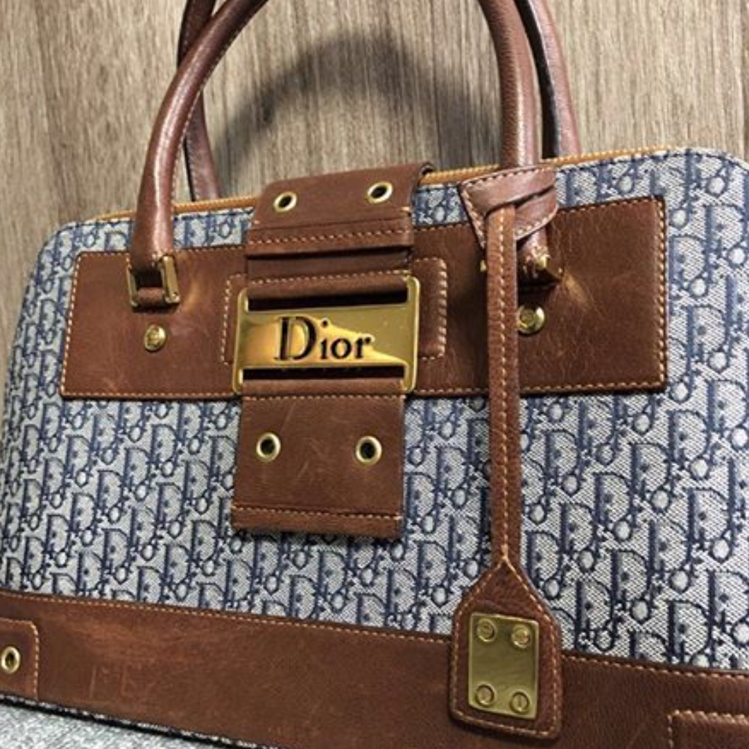 cffad520f27 Authentic Vintage Christian Dior tote bag, Luxury, Bags   Wallets, Handbags  on Carousell