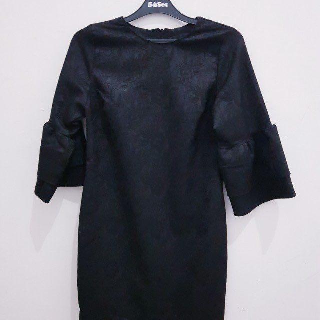 Baju Gaun Pesta Warna Hitam Women S Fashion Women S Clothes