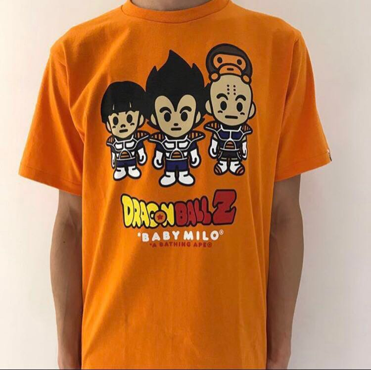 cc871900 BAPE X DRAGONBALL Z TEE #3, Men's Fashion, Clothes, Tops on Carousell