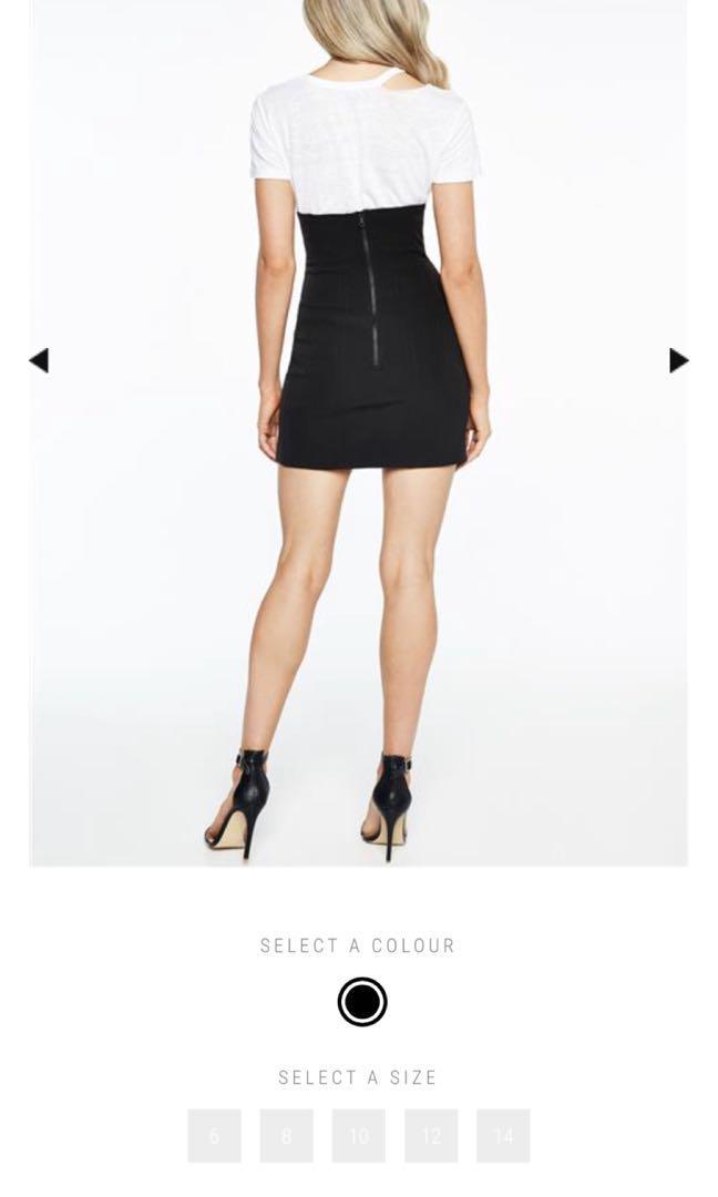 Bardot corset skirt