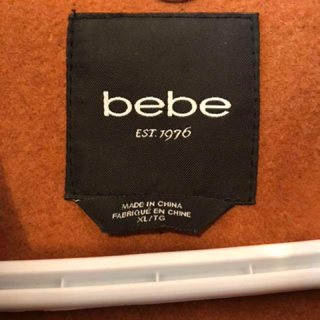 Bebe Fit and Flare Pea Coat