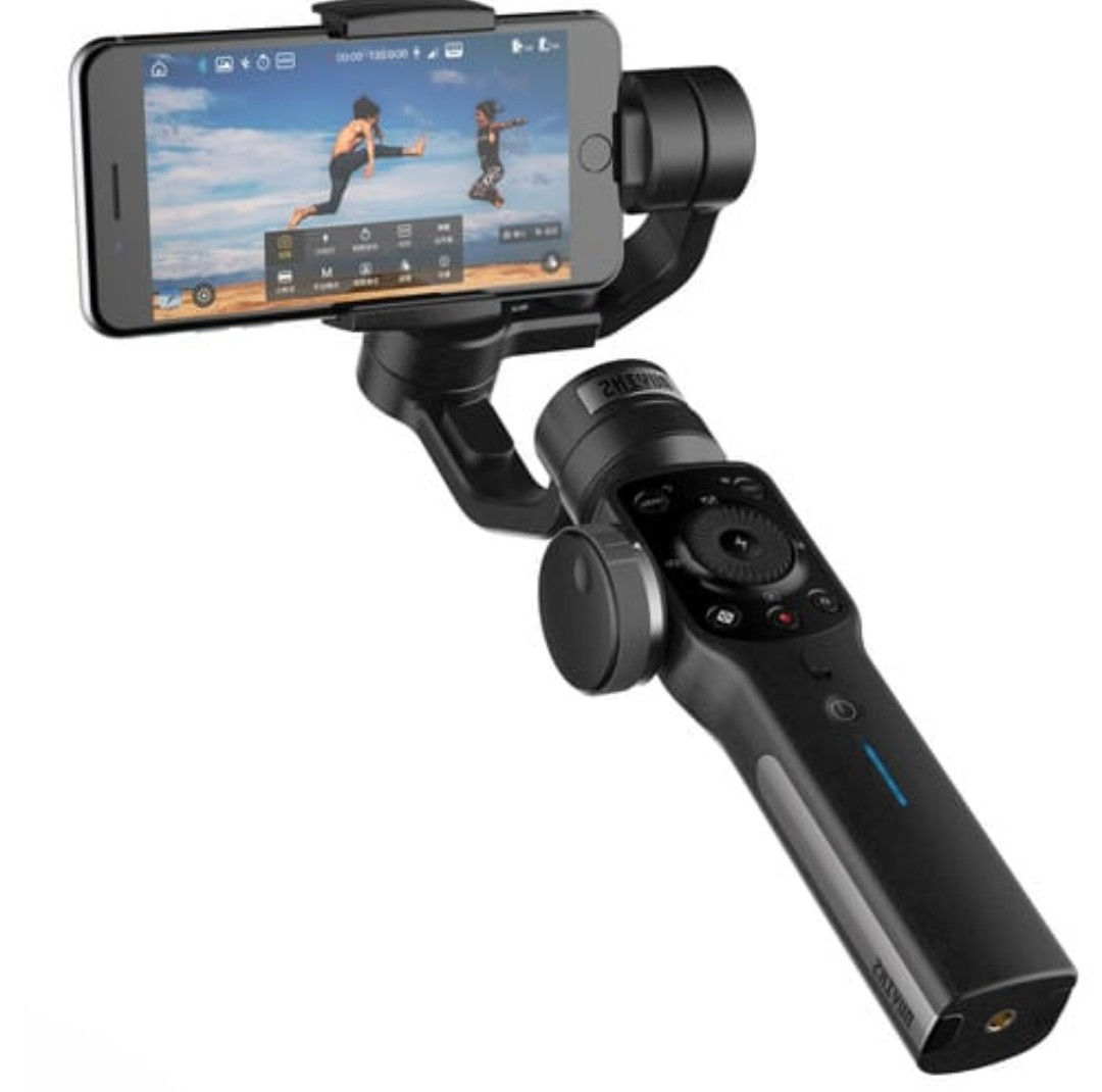 Hot Bn Zhiyun Smooth 4 Smartphone Gimbal Photography Camera Feiyu Spg 3 Axis Handheld Steady For Smartphones Accessories Others On Carousell