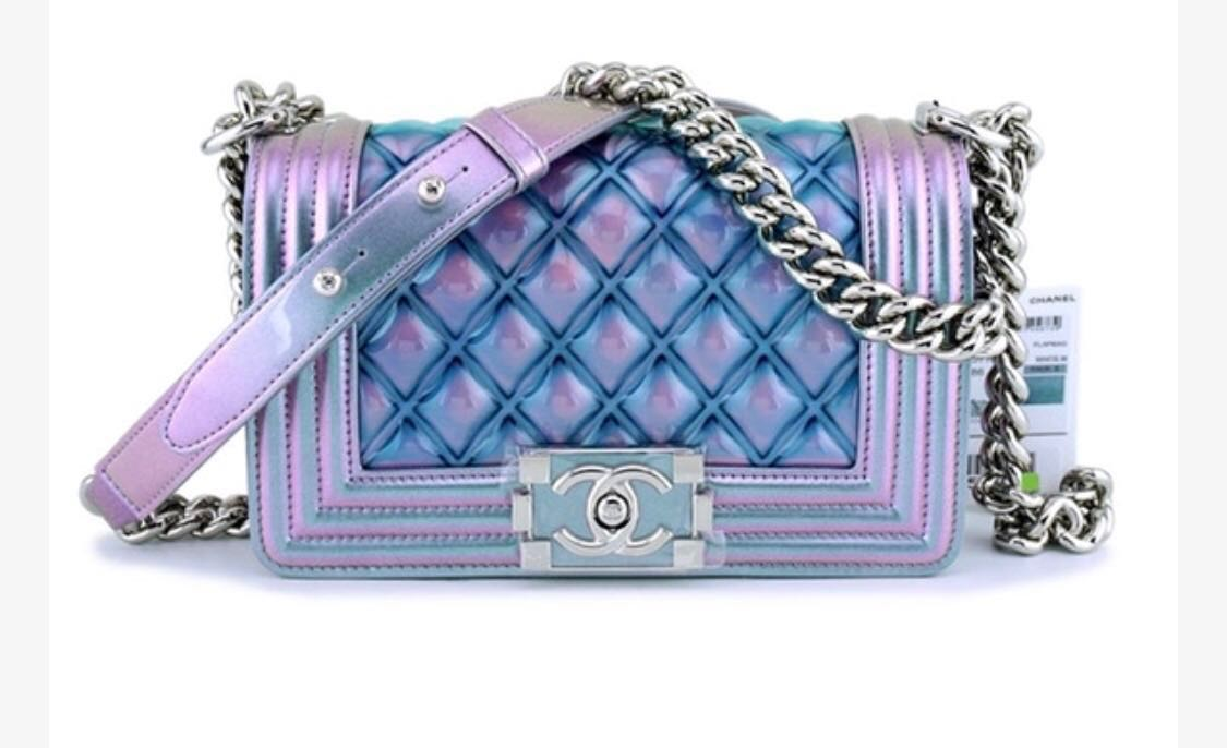 77f62dceff14 Chanel Boy Mermaid - RUNWAY RARE, Luxury, Bags & Wallets, Sling Bags ...
