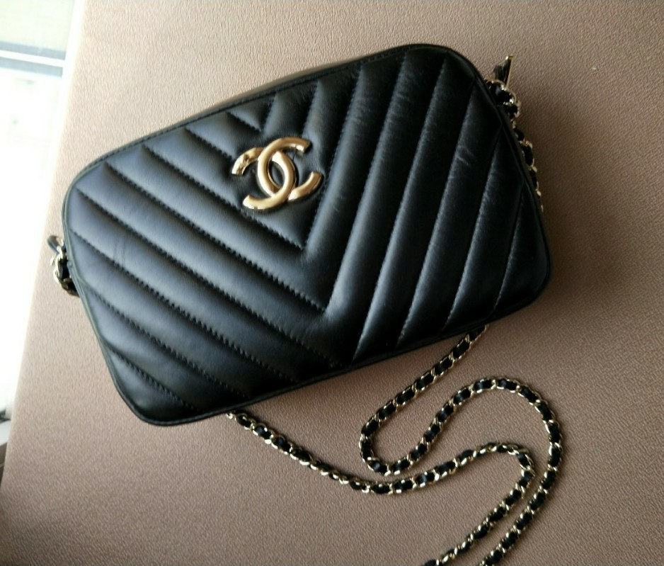926a562681e4 Price reduced) CHANEL CAMERA SLING BAG, Luxury, Bags & Wallets ...