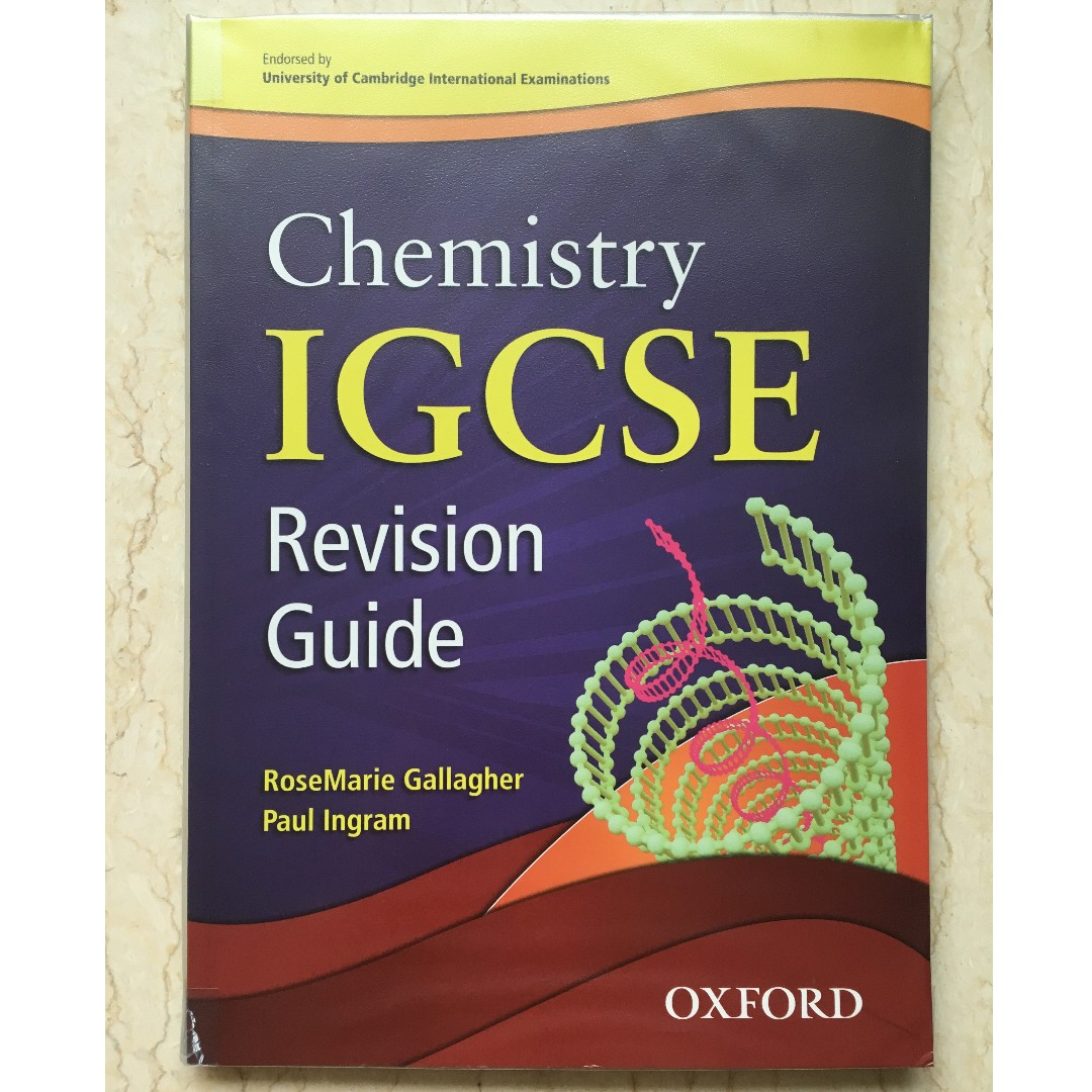 CIE Chemistry IGCSE Revision Guide