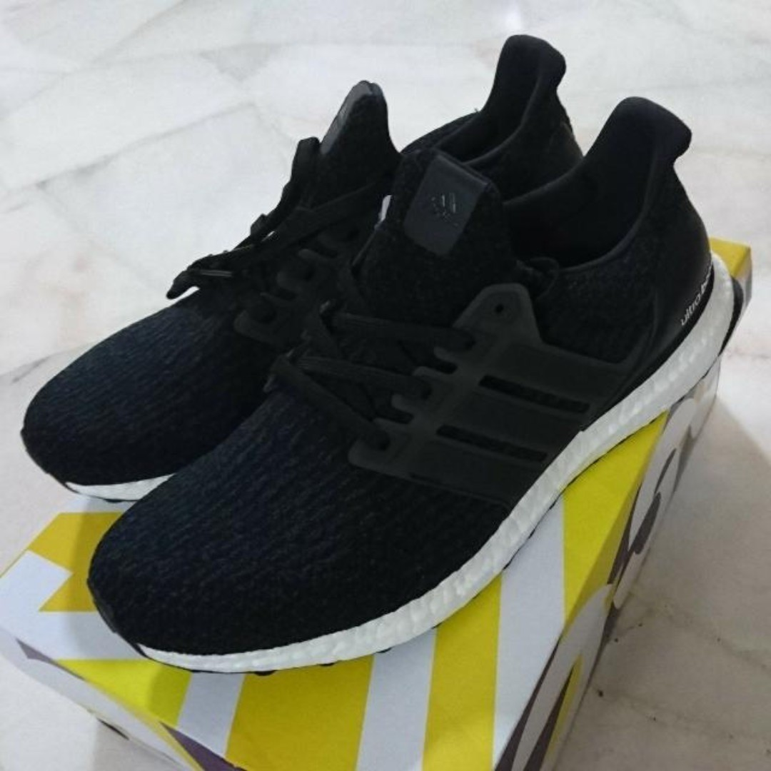 huge discount d957f 25307 #CLEARANCE DEAL# Adidas Ultra Boost 3.0 Black [UK8]
