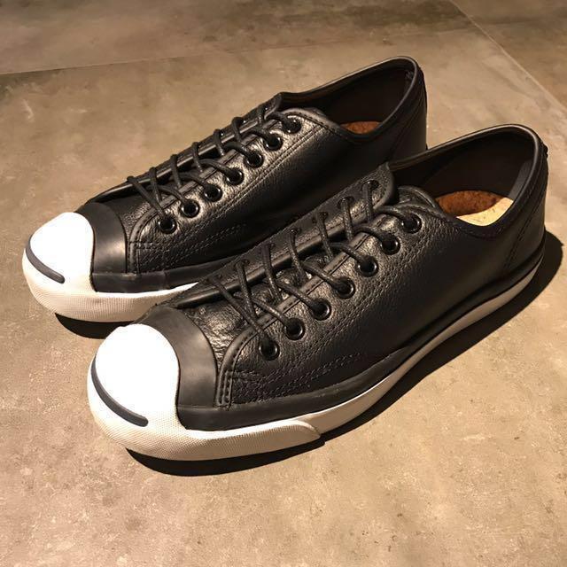 9c23b70f2453 Converse Jack Purcell (Leather Black) US(8)