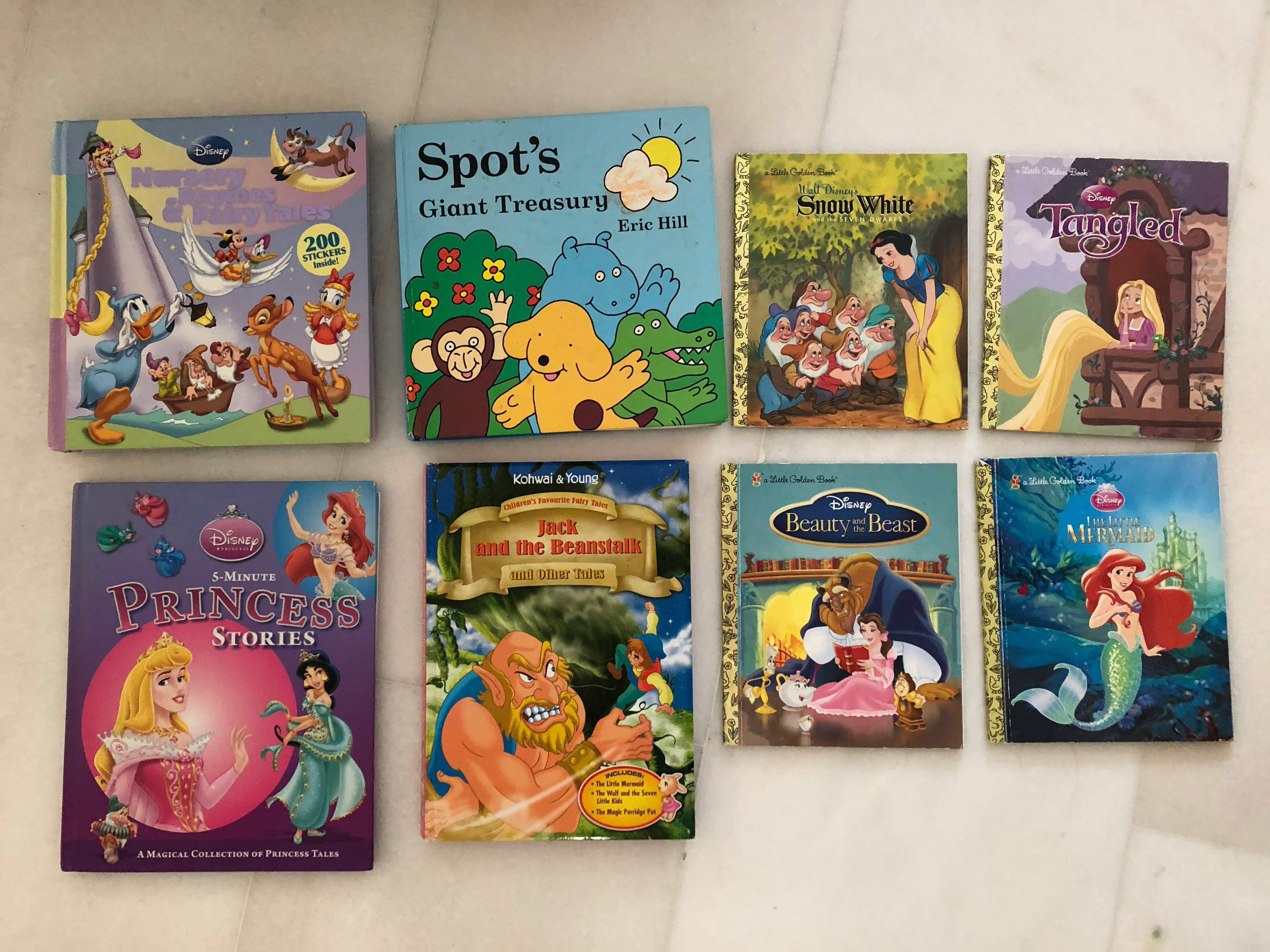 Disney Nursery Rhymes And Fairy Tales
