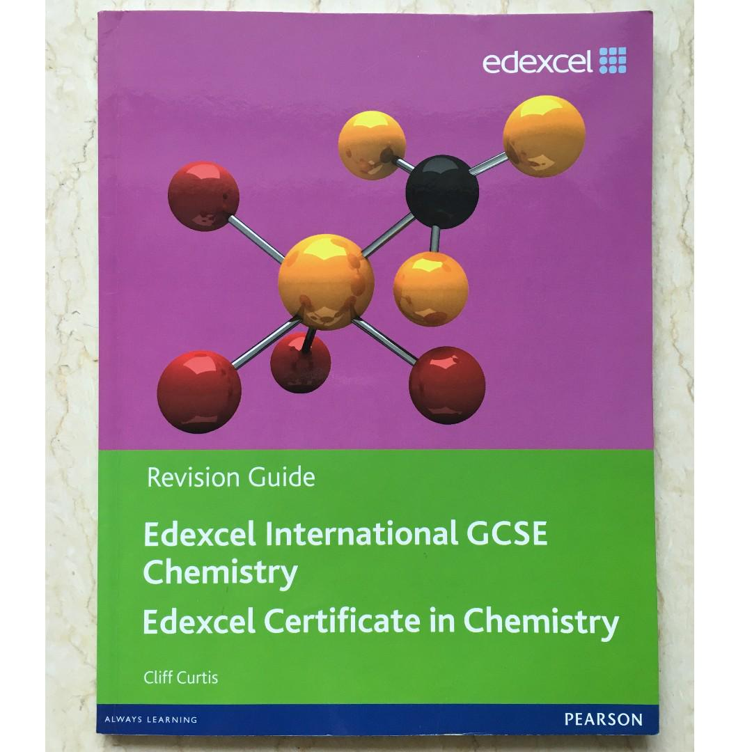 Edexcel IGCSE Chemistry Revision Guide
