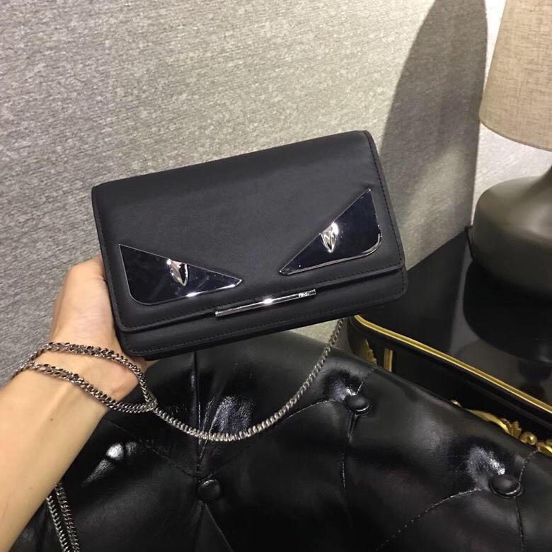 52c02908032e Fendi Monster Sling Bag Black