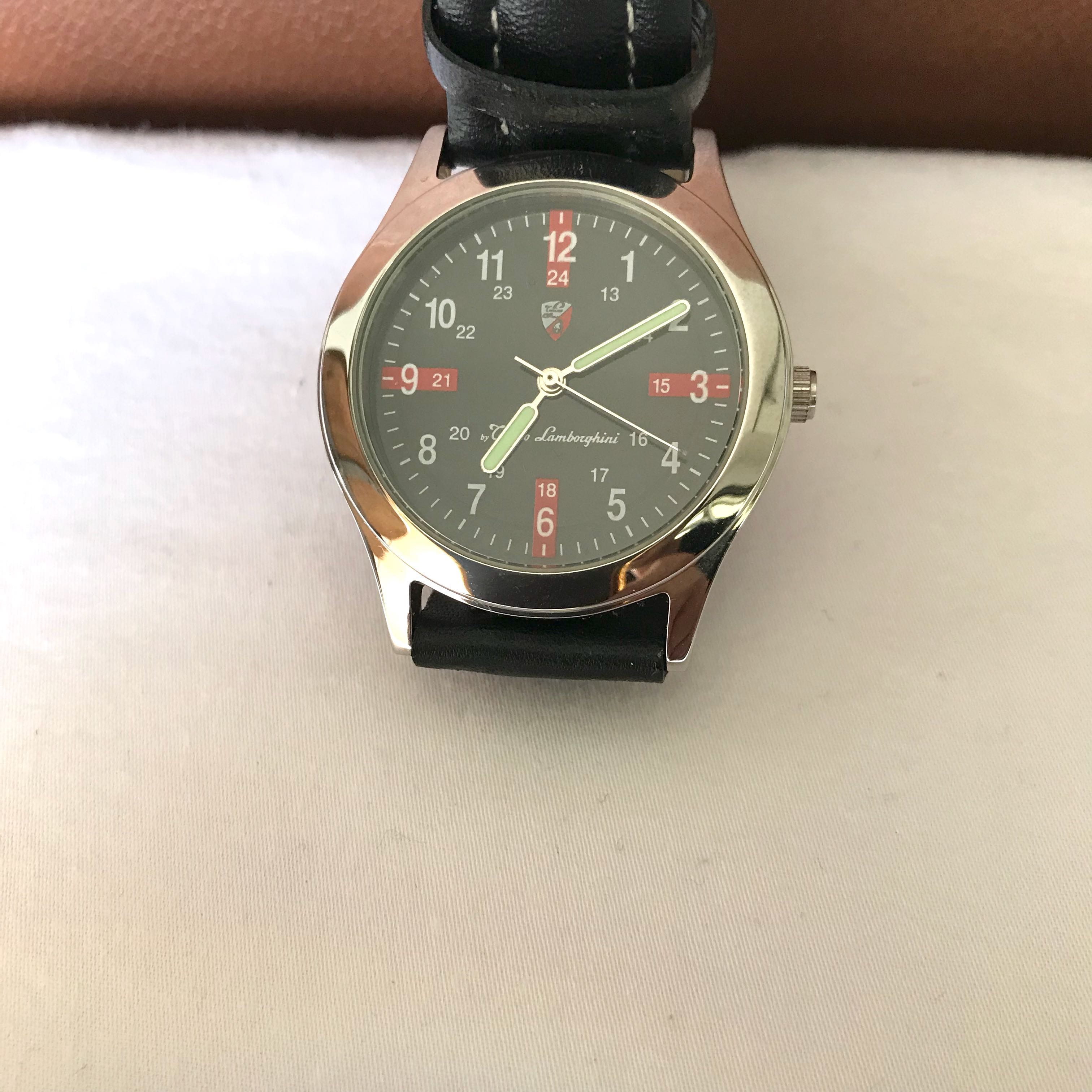 Genuine Stylish Tonino Lamborghini Watch With Pouch Men S Fashion